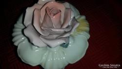 ENS rózsás bonbonier, ékszeres szelence