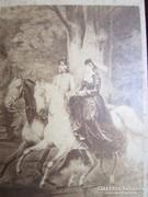 FERENC JÓZSEK SZISZI KIRÁLYNÉ LÓHÁTON GÖDÖLLŐ FOTÓ 1867