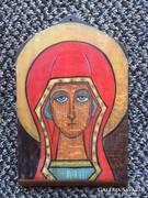 Festett fatábla - valószínűleg K. Székely Júlia (43)