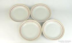 0K357 Retro Zsolnay porcelán tányér készlet 4 db