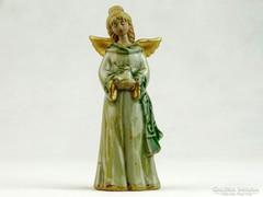 0K421 Karácsonyfadísz angyal szobor 11 cm