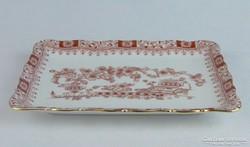 0J938 Régi Bavaria porcelán kínáló tálca