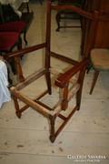 Tömör tölgy karfás szék