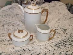 Art deco teás készlet Müller selb
