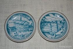 Hollóházi mini fali tányérok ( 19 )