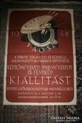 Kép- és fotókiállítás plakát - 1948