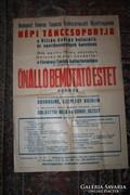 1956-os táncos plakát