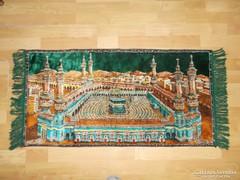 Faliszőnyeg,falikárpit ,falvédő , mokett 110x 50 cm
