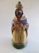 Antik szerencsét hozó szerzetes zsebben hordható, 8 cm