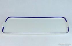 0J969 Régi porcelán tálca 40 cm