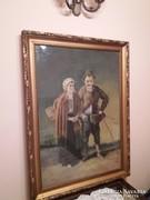 Nagyméretü festmény elado Budapesten