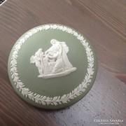 Régi angol Wdgwood porcelán ékszerdoboz