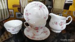 """Duchess """"June Bouqet"""" (Júniusi Csokor) angol kávés/teás trió"""