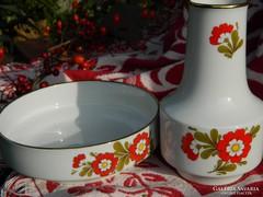 Winterling porcelán tál és váza 1950-ből