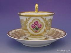 0I451 Antik jelzett BAVARIA porcelán teáscsésze