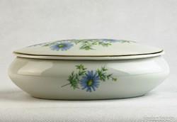 0K403 Régi hollóházi porcelán bonbonier