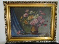 Virág csendélet - olaj