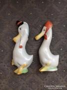 Antik Herendi kacsapár - mini figurák