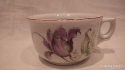 Régi vastag porcelán csésze