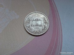 1896 ezüst 1 korona,magyar, Ritka!!!!