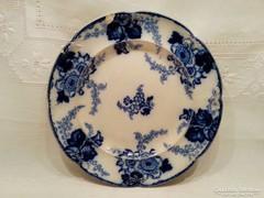 Antik, virágos angol, Cauldon lapos tányér