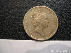 One Pound Elizabeth II  D.G.REG.F.D. 1985