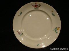 Antik Herendi porcelán tányér