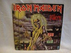 Iron Maiden Killers LP bakelit
