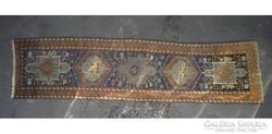 C474 Antik kaukázusi perzsa futószőnyeg 295 x 72