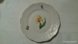 Herendi ritka tulipános süteményes tányér