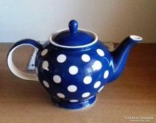 Pöttyös tea kiöntő 17 cm