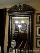 Antik boulle  hatalmas gyöngyhàzberakàsos  tükör konzolasztallal