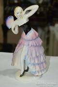 Német porcelán táncosnő