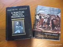 Passuth László 2 db könyv