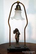 Asztali lámpa, XIX. század