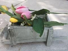 Vintage Talicska virágtartó kaspó-dekoráció bárhová-új,ajándékba is