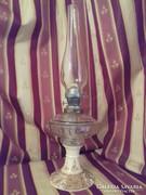 Antik FISCHER  kerámia petróleum lámpa