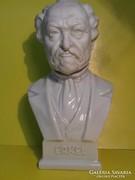 Herend erkel porcelain bust busts