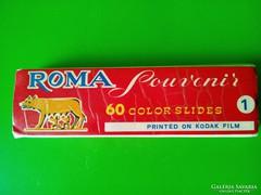 Vintage Róma diakép dia sorozat 60 db-os csak Mandarin 71 részére