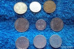 Román pénzek-16 db