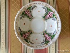 Antik bieder biedermeier bécsi kézzel festett alj csészealj