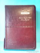 Koreai- Angol Biblia könyv