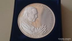 II.János Pál pápa Magyarországi látogatásának emlékére 1991.