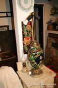 Majolika asztali lámpatest - nagy méretű