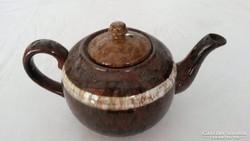Városlődi teás kanna kiöntőkerámia