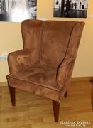 Art deco fotel, restaurált állapotban