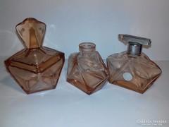 Kristály üveg parfümös készlet