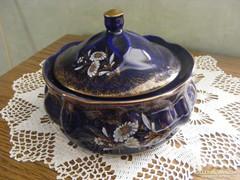Kézi festésű porcelán bonbonier