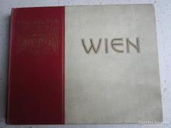 BÉCS WIEN KÉPES ALBUM UTIKALAUZ HELYTÖRTÉNET 1908