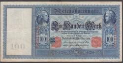 1909. Reichsbanknote 100 Mark,